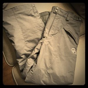 Black Unisex Columbia Ski Pants